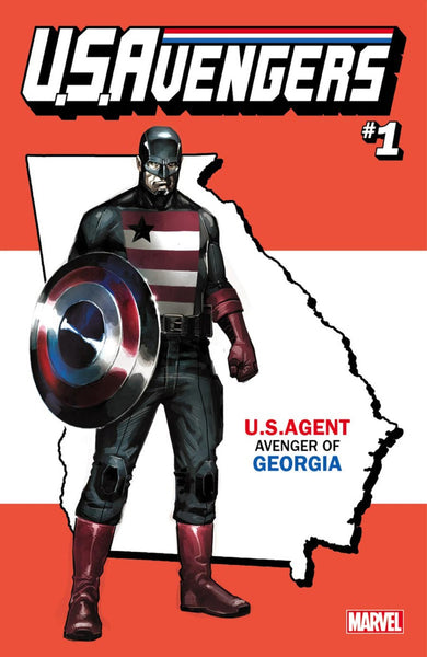 US AVENGERS #1 REIS GEORGIA STATE VAR NOW