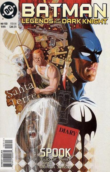 BATMAN LEGENDS OF THE DARK KNIGHT #103
