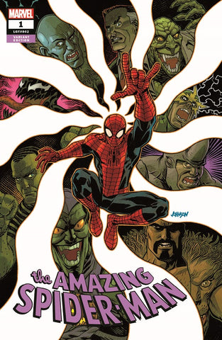 AMAZING SPIDER-MAN VOL 5 #1 - KINGS COMICS EXCLUSIVE DAVE JOHNSON VARIANT