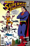 SUPERMAN UNCHAINED #3 75TH ANNIV VAR ED SILVER AGE