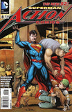 ACTION COMICS VOL 2 #8 VAR ED