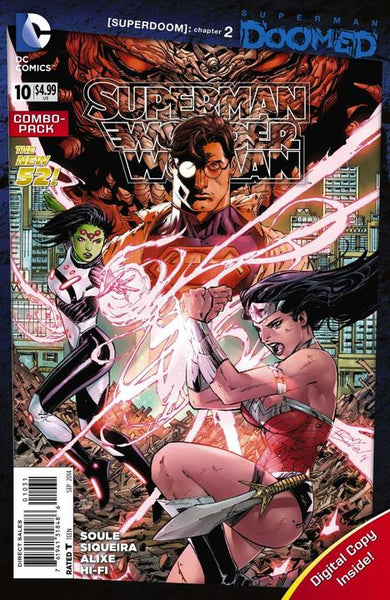SUPERMAN WONDER WOMAN #10 COMBO PACK
