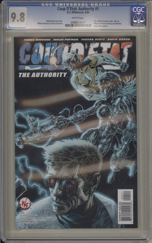 CGC COUP D'ETAT: AUTHORITY #1 (9.8)