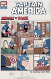 CAPTAIN AMERICA VOL 9 #23 GURIHIRU HEROES AT HOME VAR