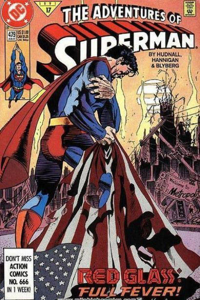 ADVENTURES OF SUPERMAN #479