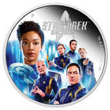 STAR TREK: DISCOVERY CREW 2019 2oz SILVER PROOF COIN