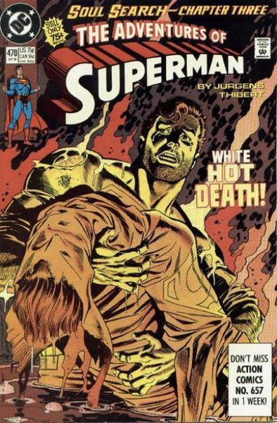 ADVENTURES OF SUPERMAN #470 - Kings Comics