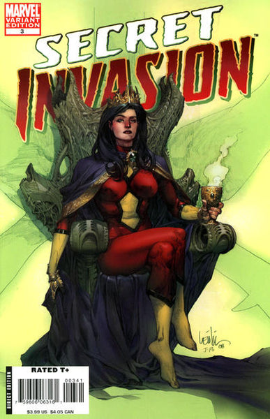 SECRET INVASION #3 YU VAR SI