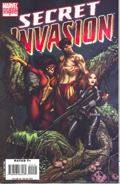SECRET INVASION #4 MCNIVEN VAR SI