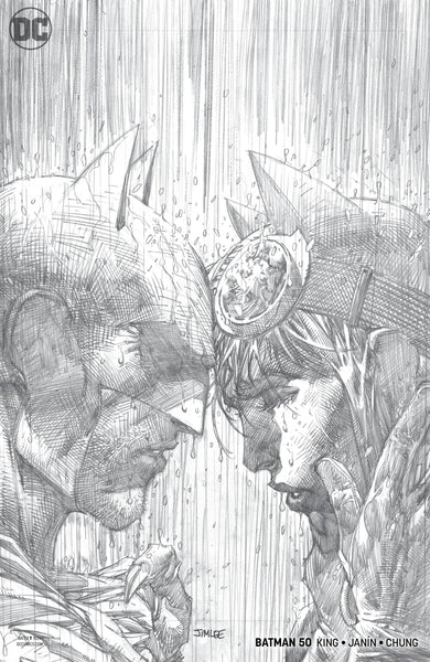 BATMAN VOL 3 #50 JIM LEE PENCILS VAR ED