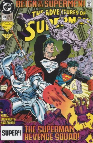 ADVENTURES OF SUPERMAN #504