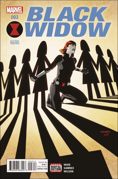 BLACK WIDOW VOL 6 #3 SAMNEE 2ND PTG VAR