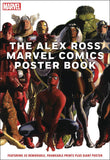 ALEX ROSS MARVEL COMICS POSTER BOOK SC