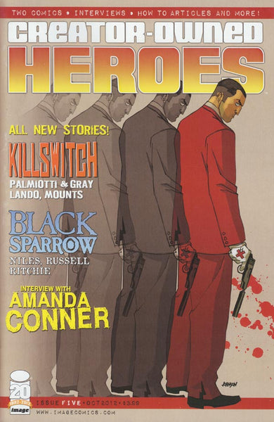 CREATOR OWNED HEROES #5