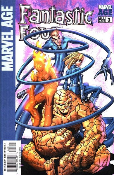 MARVEL AGE FANTASTIC FOUR #3