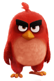 ANGRY BIRDS MOVIE RED BIRD FIG