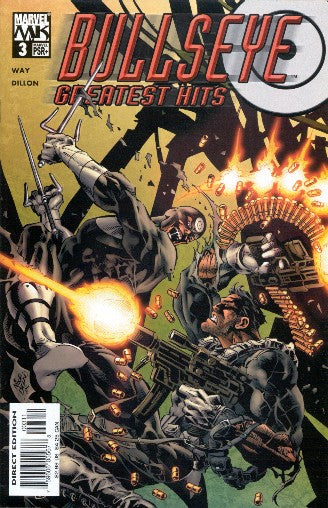 BULLSEYE GREATEST HITS #3 - Kings Comics