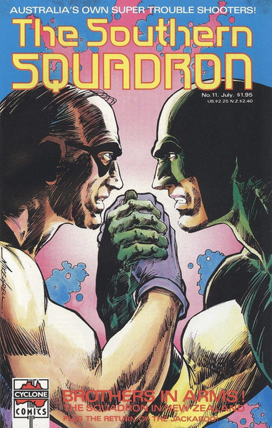 THE SOUTHERN SQUADRON #11 - Kings Comics