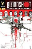 BLOODSHOT & HARD CORPS #17 - Kings Comics