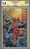 CGC AMAZING SPIDER-MAN VOL 5 #1 VIRGIN EDITION (9.8) SIGNATURE SERIES - SIGNED BY RYAN OTTLEY - Kings Comics