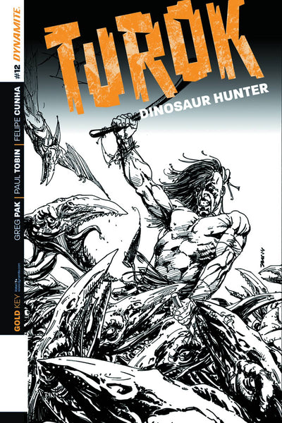 TUROK DINOSAUR HUNTER VOL 2 #12 10 COPY SEARS B&W INCV