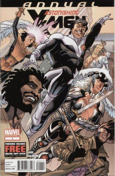 ASTONISHING X-MEN VOL 3 ANNUAL #1
