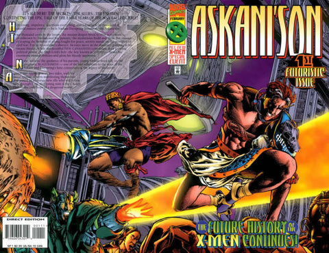 ASKANI'S SON (1996) SET OF FOUR