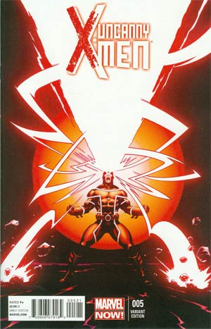 UNCANNY X-MEN VOL 3 #5 MCGUINNESS VAR NOW