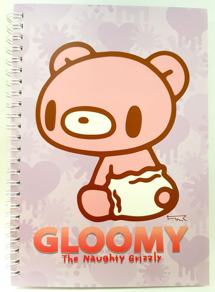 BABY GLOOMY AND PITY A5 NOTEBOOK