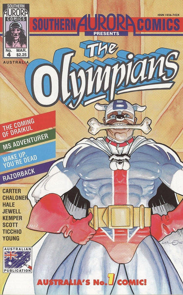 SOUTHERN AURORA COMICS PRESENTS THE OLYMPIANS #4
