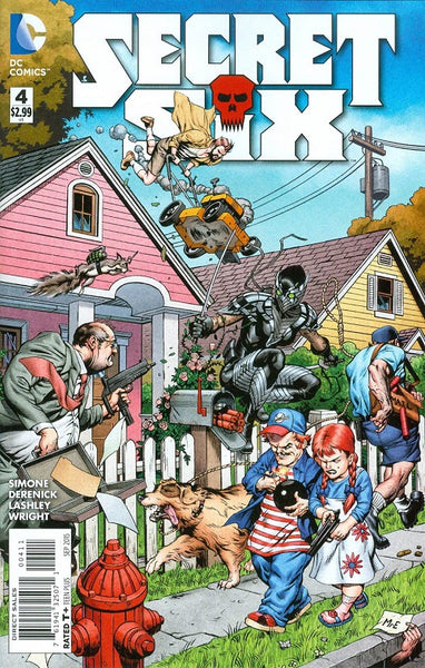 SECRET SIX VOL 4 #4