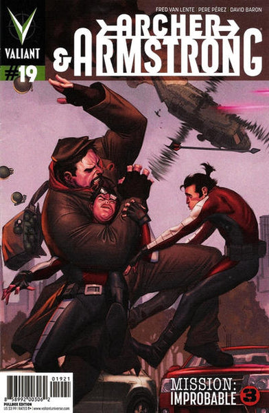 ARCHER & ARMSTRONG VOL 2 #19 PULLBOX MOLINA - Kings Comics