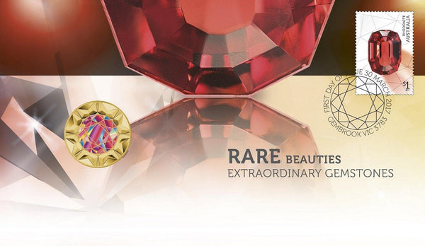 RARE BEAUTIES 2017 STAMP & COIN COVER