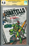CGC DONATELLO, TEENAGE MUTANT NINJA TURTLE #1 (9.8) SIGNATURE SERIES - SIGNED BY KEVIN EASTMAN