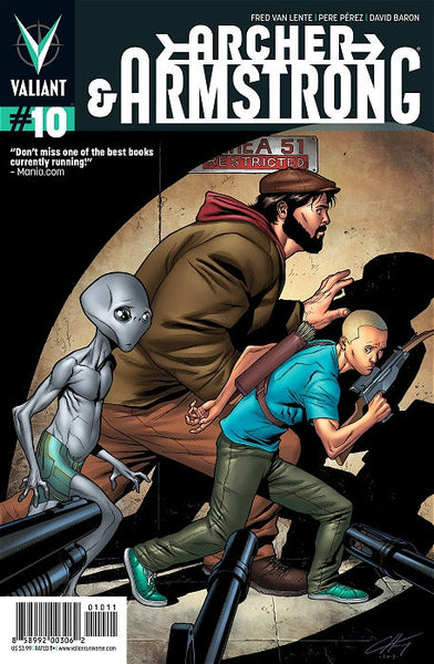 ARCHER & ARMSTRONG VOL 2 #10 - Kings Comics