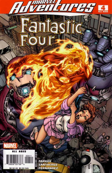 MARVEL ADVENTURES FANTASTIC FOUR #4
