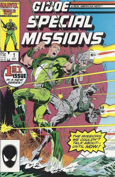 G.I. JOE SPECIAL MISSIONS #1(1986)