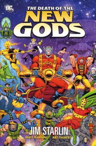 DEATH OF THE NEW GODS HC