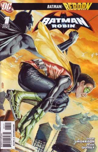 BATMAN AND ROBIN #1 VAR ED