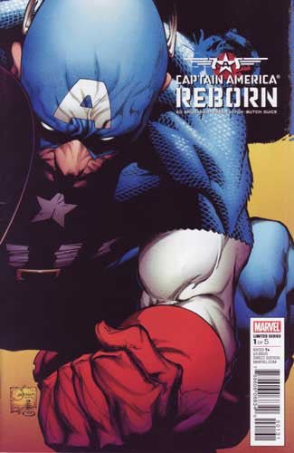 CAPTAIN AMERICA REBORN #1 QUESADA VAR - Kings Comics