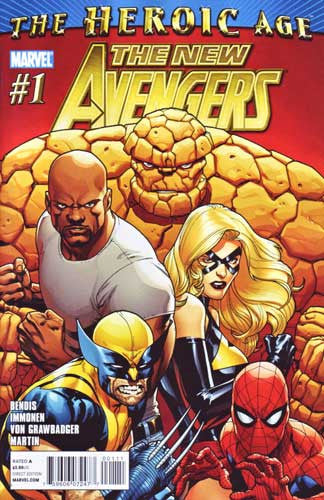 NEW AVENGERS VOL 2 #1 HA - Kings Comics