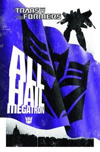 TRANSFORMERS HC COMPLETE ALL HAIL MEGATRON