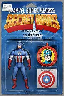 SECRET WARS #4 CHRISTOPHER ACTION FIGURE VAR