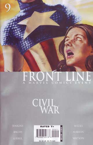 CIVIL WAR FRONT LINE #9