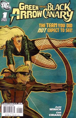 GREEN ARROW BLACK CANARY #1