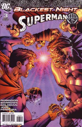 BLACKEST NIGHT SUPERMAN #3 VAR ED