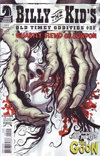 BILLY THE KID GHASTLY FIEND LONDON #2 POWELL CVR
