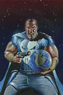 SPACE PUNISHER #4 - Kings Comics