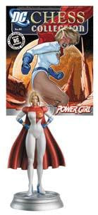 DC SUPERHERO CHESS FIG COLL MAG #45 POWER GIRL WHITE PAWN