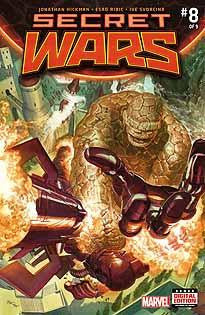 SECRET WARS #8 SWA